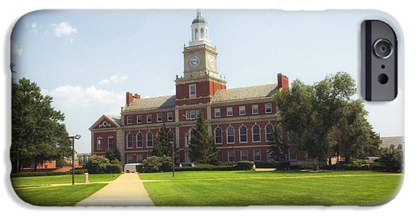 Howard University Campus IPhone Case by Mountain Dreams