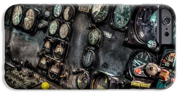 Huey Instrument Panel 2 IPhone 6s Case by David Morefield