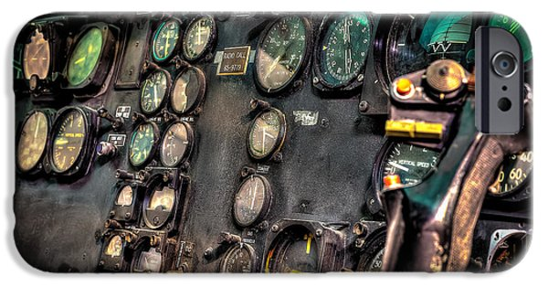 Huey Instrument Panel IPhone 6s Case by David Morefield