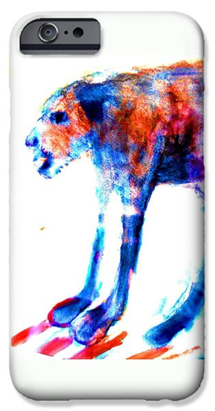 I Am Not A Beast So Please Don't Kill Me  IPhone Case by Hilde Widerberg
