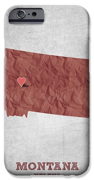 I Love Helena Montana - Red IPhone Case by Aged Pixel