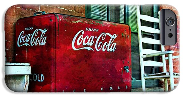 Ice Cold Coca Cola IPhone Case by Benanne Stiens