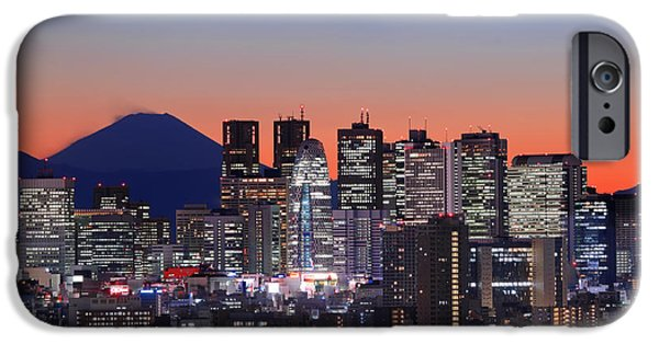 Iconic Mt Fuji With Shinjuku Skyscrapers IPhone 6s Case by Duane Walker