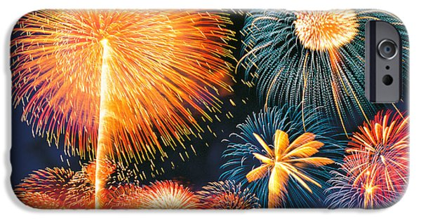Ignited Fireworks IPhone Case by Panoramic Images