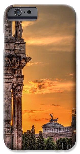 Illuminati Rome IPhone Case by Erik Brede