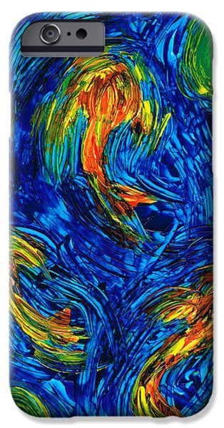 Impressionist Koi Fish By Sharon Cummings IPhone 6s Case by Sharon Cummings