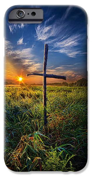 In His Glory IPhone Case by Phil Koch