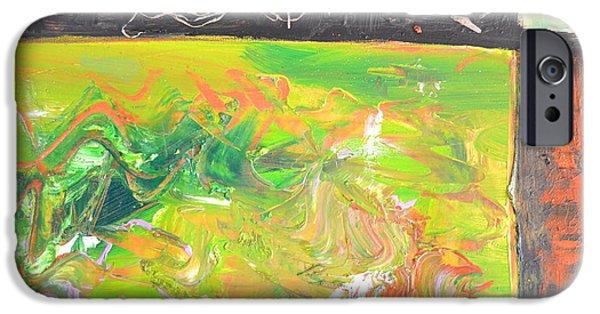 In The Garden IPhone Case by Robert Daniels