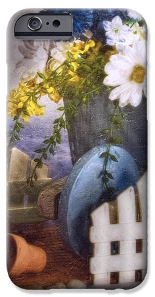 In The Garden IPhone Case by Tom Mc Nemar