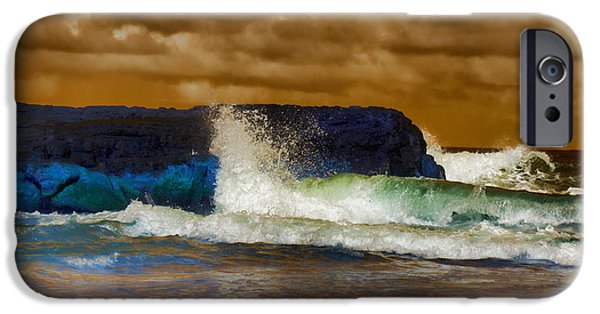 Incoming Tide IPhone Case by Douglas Barnard