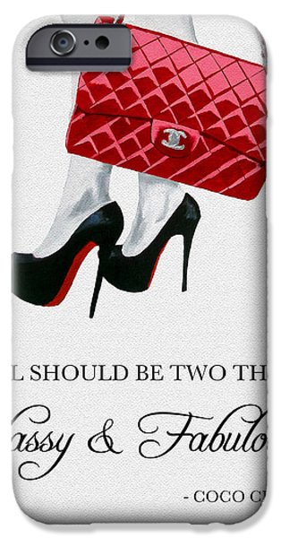 Independent Quote IPhone Case by Rebecca Jenkins