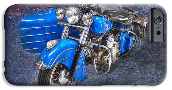 Indian Chief Motorcycle Legend IPhone Case by Heiko Koehrer-Wagner