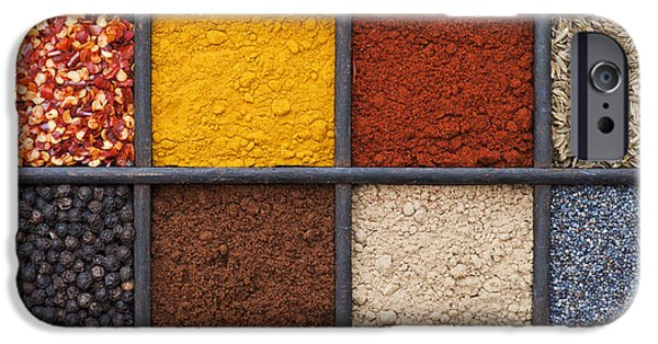 Indian Spices IPhone Case by Tim Gainey