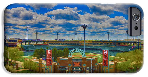 Indianapolis Indians Victory Field IPhone Case by David Haskett