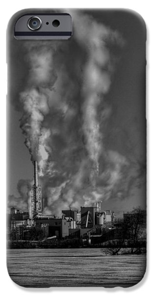 Industry In Black And White 2 IPhone Case by Thomas Young
