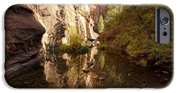 Into The Canyon  IPhone Case by Saija  Lehtonen