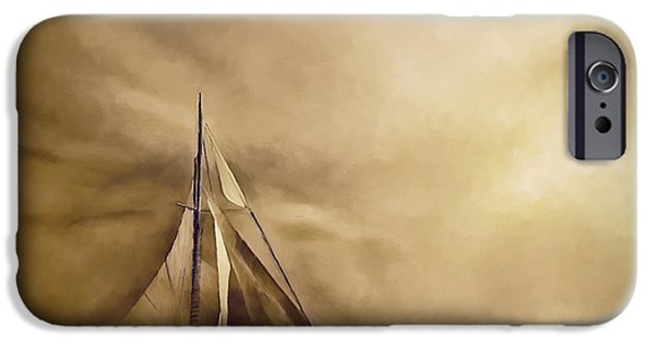 Into The Storm IPhone Case by Lonnie Christopher