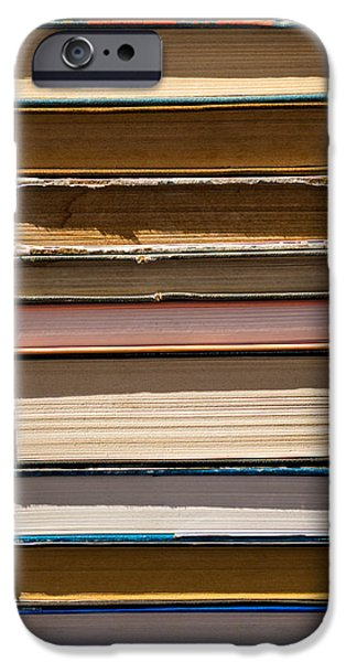 iPhone Case - Pile Of Books IPhone Case by Alexander Senin