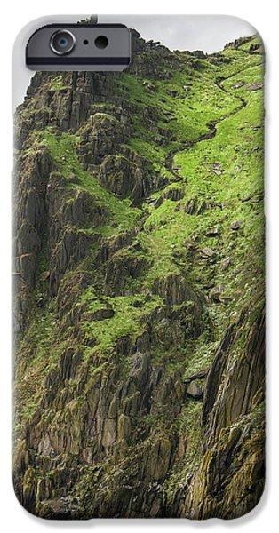 Ireland Skellig Michael Island Europe's IPhone Case by Tom Norring