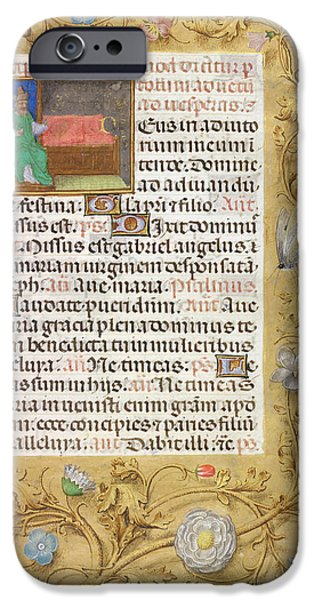 Isaiah Enthroned IPhone Case by British Library