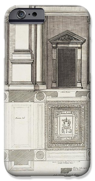 Italian Architecture IPhone Case by British Library