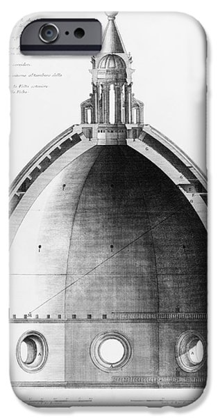 Italian Cathedral Dome IPhone Case by Library Of Congress