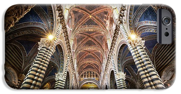 Italy, Sienna Interior Of Sienna IPhone Case by Jaynes Gallery