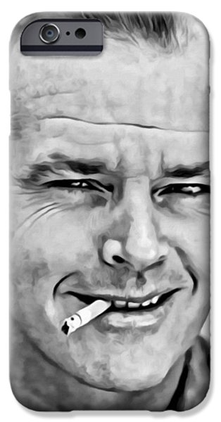 Jack Nicholson IPhone 6s Case by Florian Rodarte