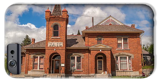 Jail Built In 1896 IPhone Case by Sue Smith