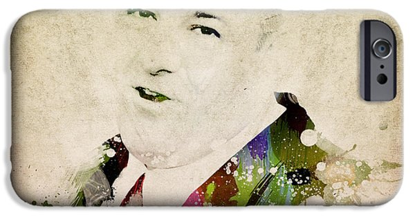 James Gandolfini IPhone Case by Aged Pixel