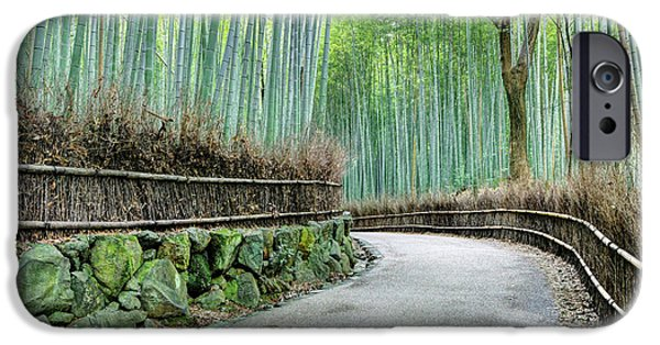 Japan, Kyoto Road IPhone Case by Jaynes Gallery