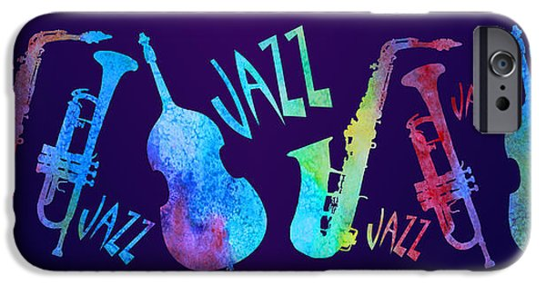 Jazzy Combo IPhone 6s Case by Jenny Armitage