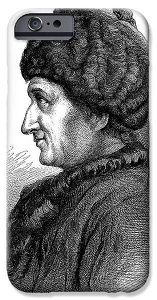 Jean-jacques Rousseau IPhone Case by Bildagentur-online/tschanz