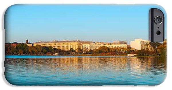 Jefferson Memorial And Washington IPhone 6s Case by Panoramic Images