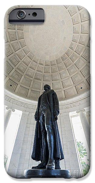 Jefferson Memorial IPhone Case by John Greim