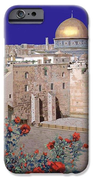 Jerusalem IPhone Case by Guido Borelli