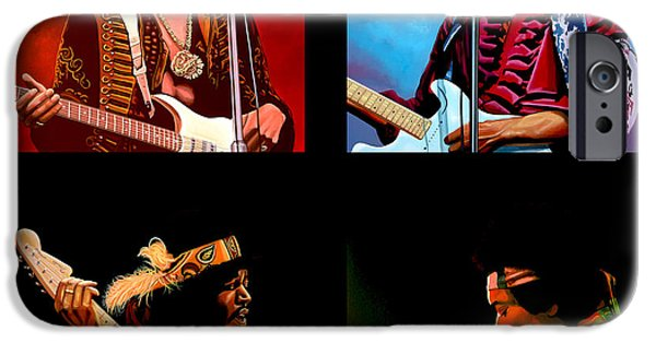 Jimi Hendrix Collection IPhone Case by Paul Meijering