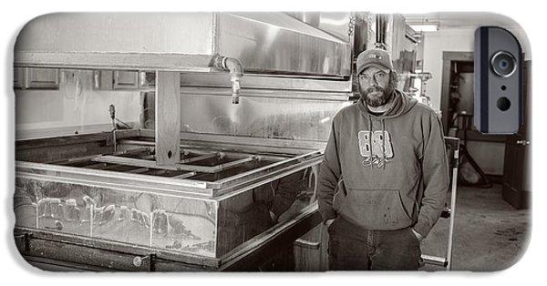 Jimmy At Mt Cube Sugar Farm IPhone Case by Edward Fielding