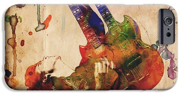 Jimmy Page - Led Zeppelin IPhone 6s Case by Ryan Rock Artist