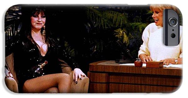 Joan Rivers And Elvira IPhone 6s Case by Brian Benjamin