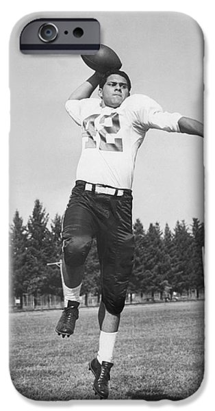 Joe Francis Throwing Football IPhone 6s Case by Underwood Archives