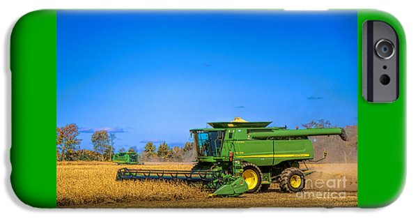 John Deere 9770 IPhone Case by Olivier Le Queinec