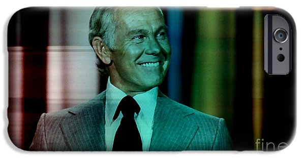 Johnny Carson IPhone 6s Case by Marvin Blaine