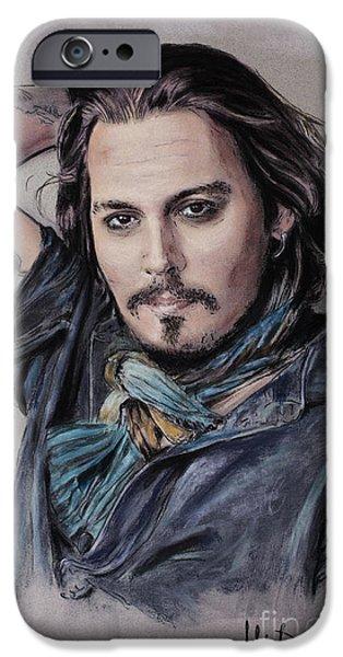 Johnny Depp IPhone 6s Case by Melanie D