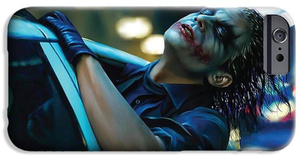 Joker IPhone 6s Case by Veronika Limonov