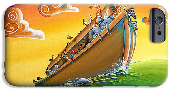 Noah's Ark - Journey To New Beginnings IPhone 6s Case by Cindy Thornton