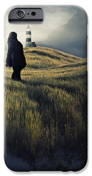 Journey To The Cold Mountain  IPhone Case by Martin Smolak