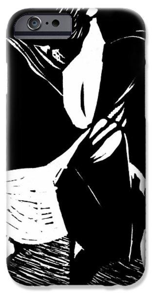 Joyful Dance IPhone Case by Gun Legler