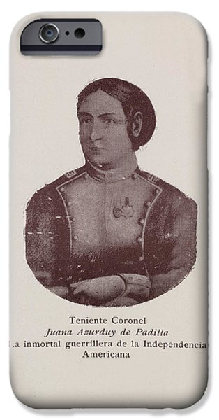Juana Asurduy De Padilla IPhone Case by British Library