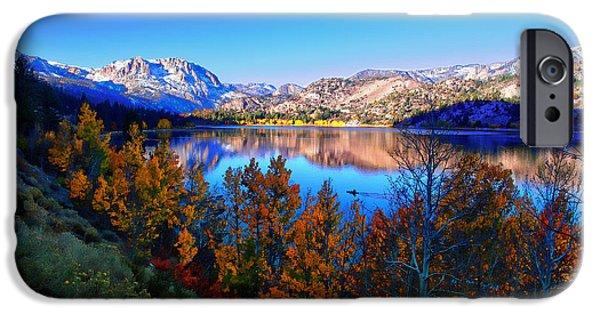 June Lake California Sunrise IPhone Case by Scott McGuire
